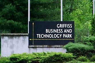 Grifiss Business & Technology Park sign