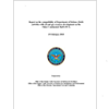 cover of the  	  Report on the compatibility of Department of Defense (DoD)