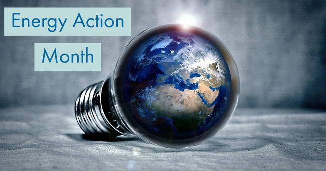 Conserving resources during Energy Action Month