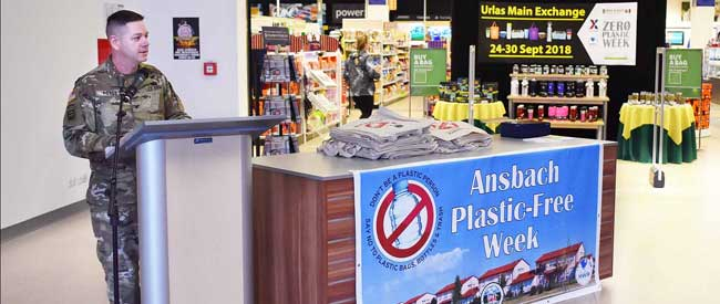 USAG Ansbach first ever Plastic-Free Week Sept. 23 - 30, 2018