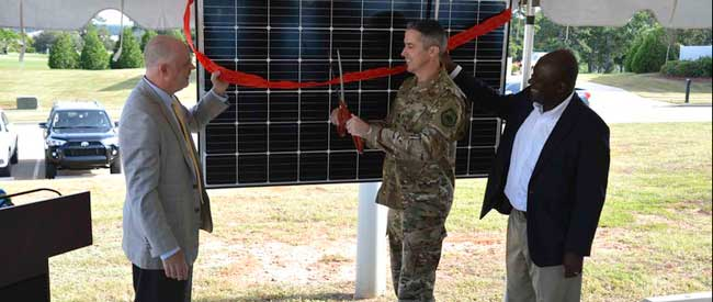 Innovative solar panel project first in South Carolina