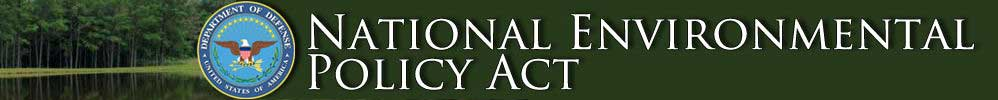 National Environmental Policy Act Home